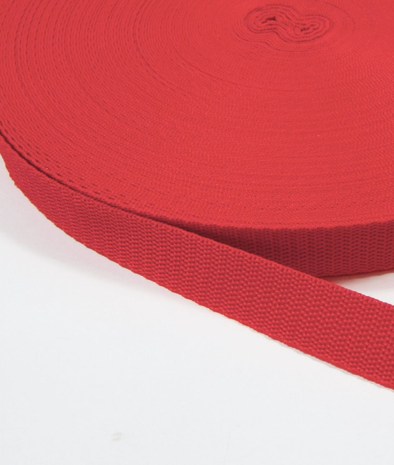 Gurtband Polyester 20 mm ROT